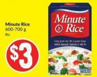 Minute Rice 600-700 g