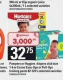 Pampers Or Huggies Diapers - Club Size 1-6 Or Econo Easy-ups Or Pull-ups Training Pants - 82-124's