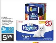 Royale Bathroom Tissue - 20 Air Miles Bonus Miles