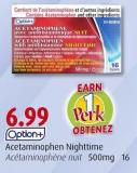 Option+ Acetaminophen Nighttime