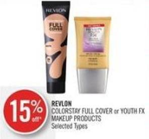 Revlon Colorstay Full Cover or Youth Fx Makeup Products