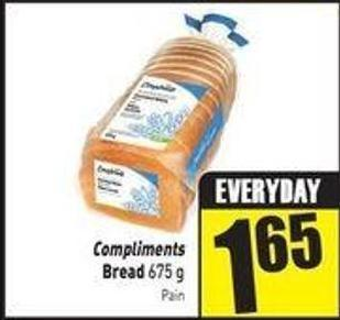 Compliments Bread 675 g