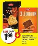 Dare Ultimate Cookies 290-300 g Leclerc Cookies 240 g
