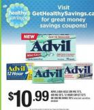 Advil Liqui-gels - 200 Mg 72's - 400 Mg 50's - 12 Hour Caplet - 52's Or 200 Mg Minis - 70's