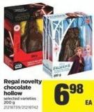 Regal Novelty Chocolate Hollow - 200 g