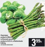 Asparagus Or Brussels Sprouts