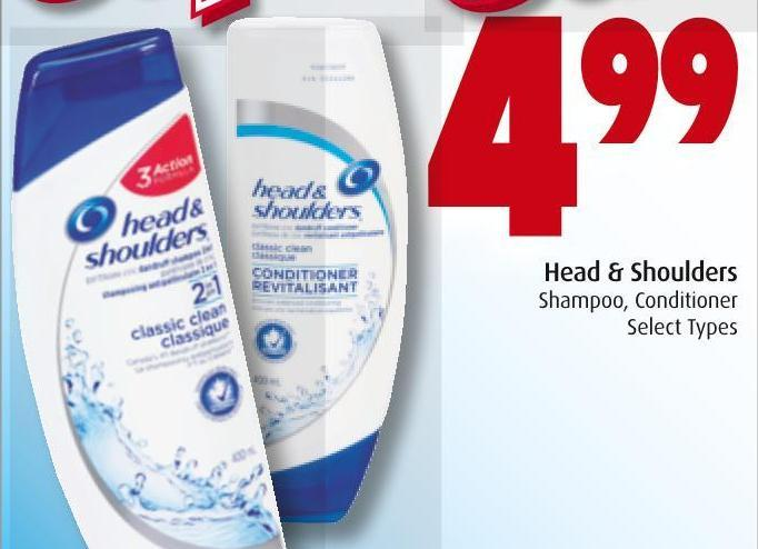 Head & Shoulders  Shampoo - Conditioner