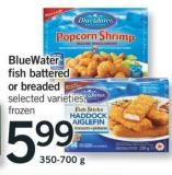 Bluewater Fish - Battered Or Breaded - 350-700 g