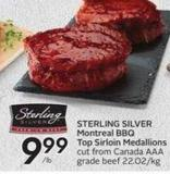 Sterling Silver Montreal Bbq Top Sirloin Medallions
