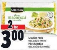 Selection Pasta