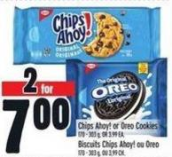 Chips Ahoy! Or Oreo Cookies