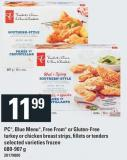 PC - Blue Menu - Free From Or Gluten-free Turkey Or Chicken Breast Strips - Fillets Or Tenders - 680-907 g
