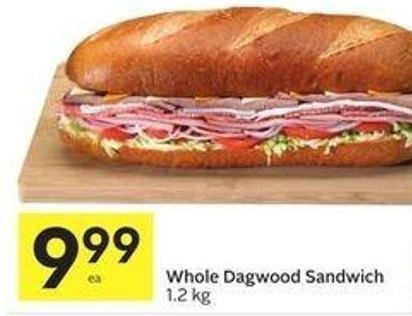 Whole Dagwood Sandwich