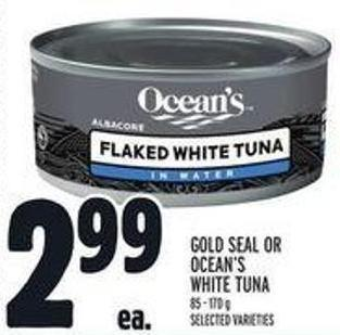 Gold Seal Or Ocean's White Tuna