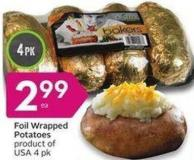 Foil Wrapped Potatoes