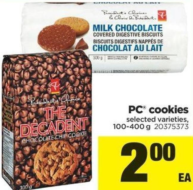 PC Cookies - 100-400 G