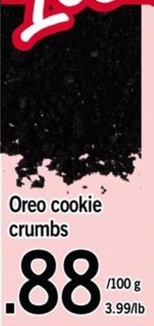 Oreo Cookie Crumbs