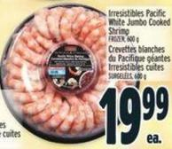 Irresistibles Pacific White Jumbo Cooked Shrimp