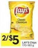 Lay's Chips 170-180 g