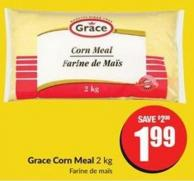 Grace Corn Meal 2 Kg
