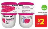 Danone No Sugar Added