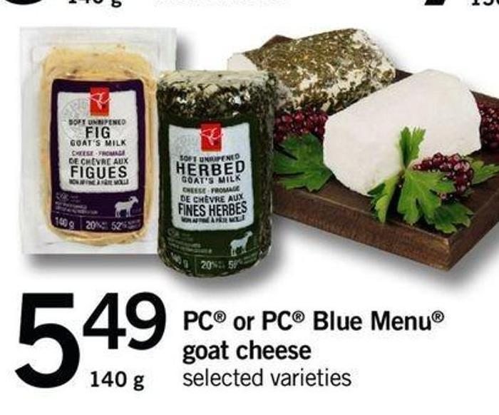 PC Or PC Blue Menu Goat Cheese - 140 G