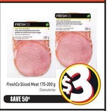 Freshco Sliced Meat 175-200 g