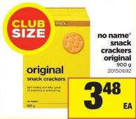 No Name Snack Crackers Original - 900 G