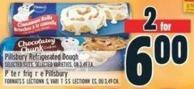 Pillsbury Refrigerated Dough