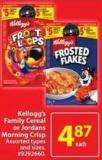 Kellogg's Family Cereal or Jordans Morning Crisp