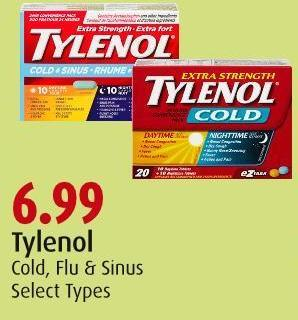 Tylenol Cold - Flu & Sinus