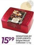 Sensations By Compliments Belgian Biscuit Collection - 1.2 Kg