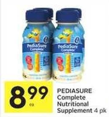 Pediasure Complete Nutritional Supplement