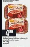 Mccain Deep 'N Delicious Cakes Or Pies - 400-510 G