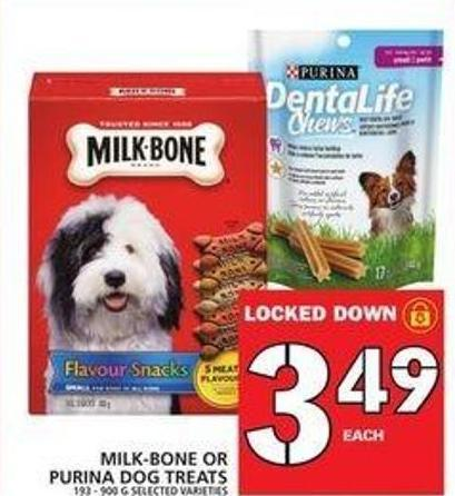 Milk-bone Or Purina Dog Treats