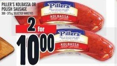Piller's Kolbassa Or Polish Sausage