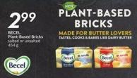 Becel Plant-based Bricks