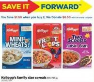 Kellogg's Family Size Cereals 515 - 765 g