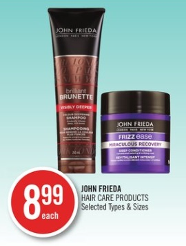 John Frieda Hair Care Products