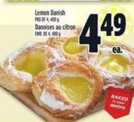 Lemon Danish