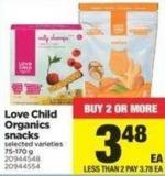 Love Child Organics Snacks - 75-170 g