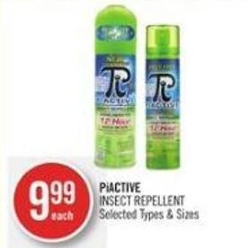 Piactive Insect Repellent