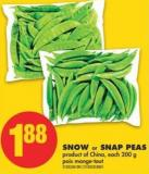 Snow or Snap Peas - 200 g