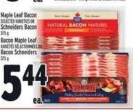 Maple Leaf Bacon Or Schneiders Bacon | Bacon Maple Leaf Bacon Schneiders