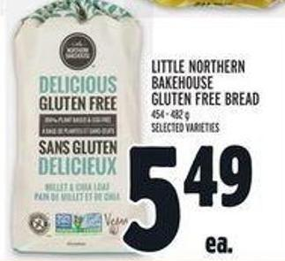 Little Northern Bakehouse Gluten Free Bread