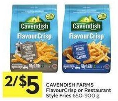 Cavendish Farms Flavourcrisp or Restaurant Style Fries 650-900 g