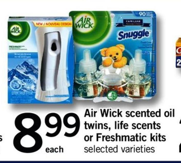 Air Wick Scented Oil Twins - Life Scents Or Freshmatic Kits