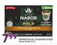 Nabob Keurig Compatible Single Serve Pods 12 Pk