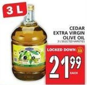 Cedar Extra Virgin Olive Oil