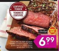 Sterling Silver Striploin